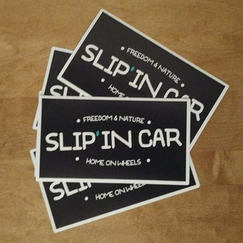 Slip'in Car - Sleep in car - aide pour trouver où dormir en van, voiture... en voyage
